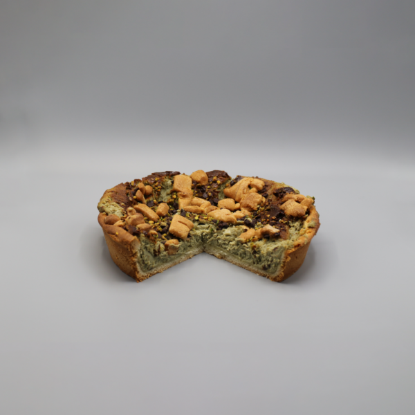 Torta Sbriciolata al Pistacchio